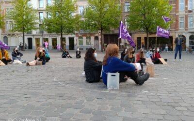 Stop seksueel geweld en discriminatie ! Actie in Leuven 12/5/2021