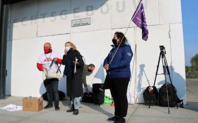 Actie in Gent : Stop GAS-boetes tegen sociale actie!
