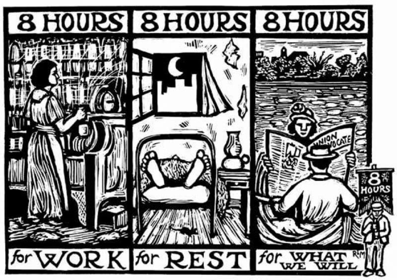 100 jaar 8-uren werkdag