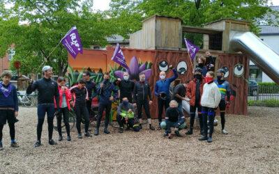 ROSA-peloton: challenge volbracht!