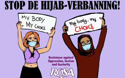 Hoofddoeken: laat vrouwen zelf beslissen!