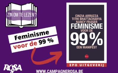 """Zin om te lezen : """"Feminisme voor de 99%"""""""
