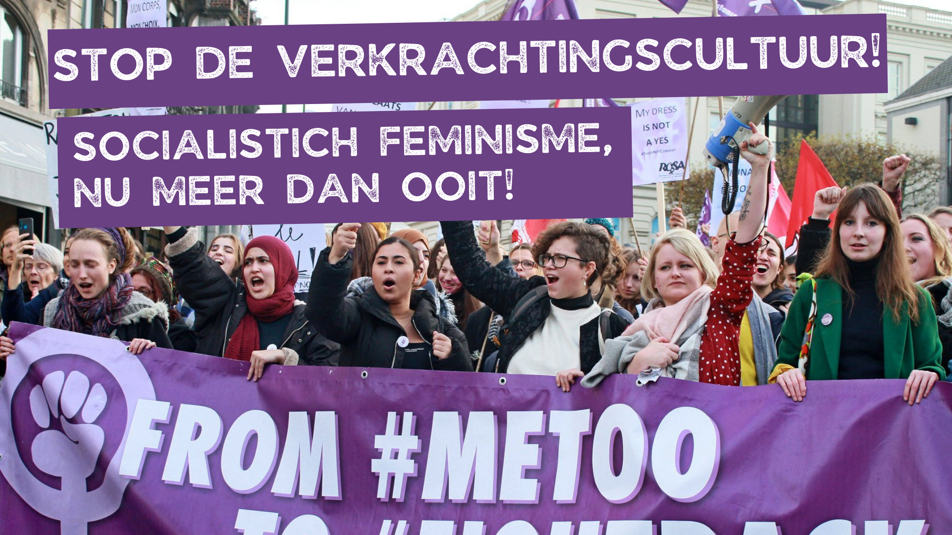 Strijd mee tegen seksisme en LGBTQI+-fobie