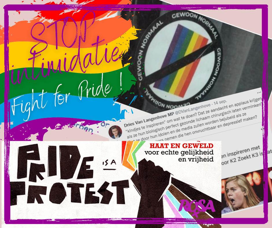 Anti-LGBTQ-stickers: strijd tegen homofobie is bijlange nog niet gevoerd!