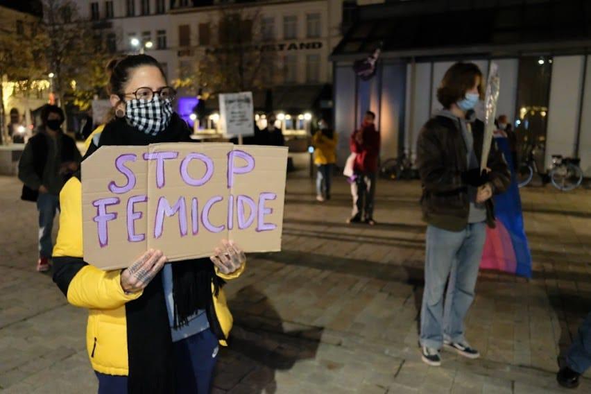 Al 15 feminicides in 2021 – geweld tegen vrouwen is niet onvermijdelijk!