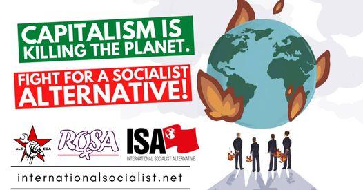 🌍 Destroy capitalism before it destroys the planet