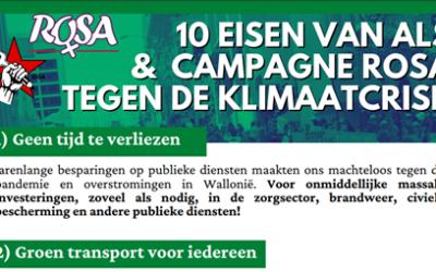 Het kapitalisme doodt: onteigen de klimaatcriminelen!